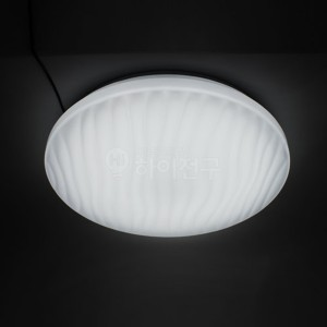 포커스 LED 방등 웨이브 원형 60W 114533