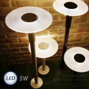 LED 아크릴 카페 1등 잔디등 5W 114588