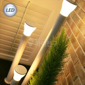 LED 슬림 잔디등 머쉬룸 화이트 114586