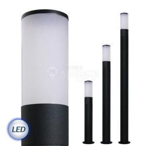 LED 슬림 잔디등 샌딩 블랙 114585