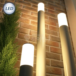 LED 슬림 잔디등 샌딩 화이트 114584