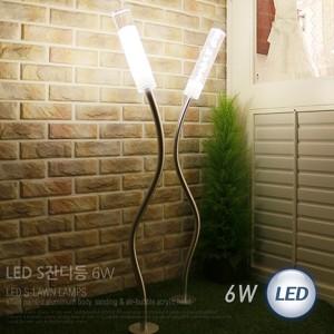 S LED 잔디등 1등 6W 114565