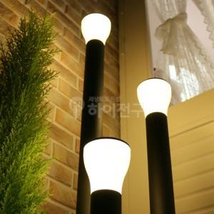 LED 슬림 잔디등 머쉬룸 블랙 114507