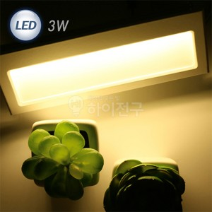 LED 계단매입 3W ODL-038 실내용 화이트 114432