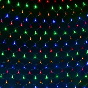 Hm1202 LED그물전구200구 투명선 네트라이트 트리전구
