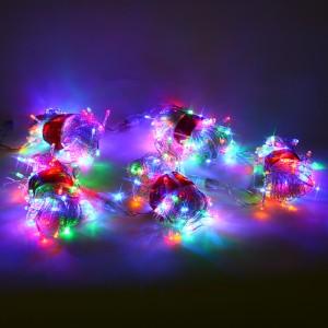 Hm1403 LED은하수전구500구 5x100구 투명선 직렬형