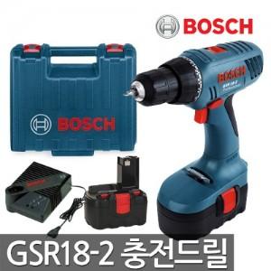 [보쉬] 충전드릴 GSR18-2 18V 1.5AH 배터리2