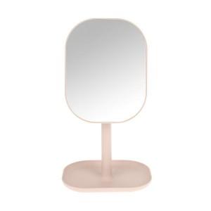 HY2 360 회전 사각화장거울 베이비핑크