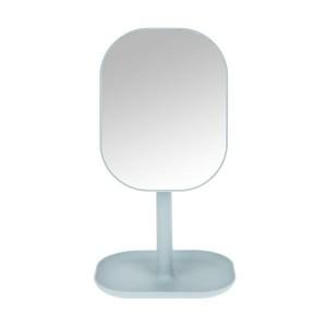 HY2 360 회전 사각화장거울 블루