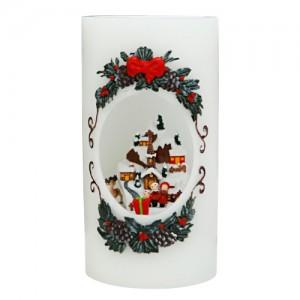 [adico] 크리스마스 LED 워터볼 - 산타클로스