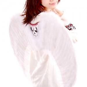 대형 천사 날개 (화이트)