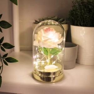 핑크 트윙크 로즈돔 LED 무드등
