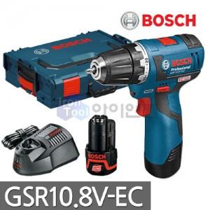 [보쉬] 충전드라이버드릴 GSR10.8V-EC 10.8V 2.0AH