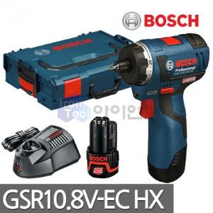 보쉬 충전드릴 GSR10.8V-EC HX 18V 2.0AH 배터리2개