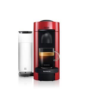 드롱기 네스프레소 베르투오플러스 커피 에스프레소 메이커, 레드/ 4410g