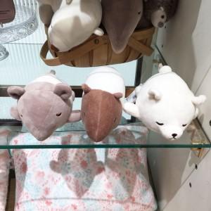 애프터눈티 오야스미 애니멀 시리즈 3종택1 (바쿠,북극곰,맥)