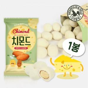[산과들에] 치몬드 20g x1봉 (유산균 칼슘 치즈 아몬드)