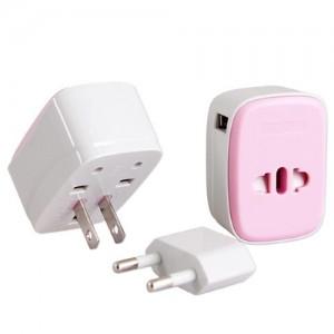 Ozem 블룸 USB 고속충전 여행용어댑터