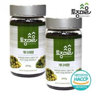 [토종마을]HACCP 인증 자연산국산 개다래환 200g X 2개