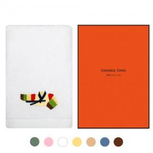 [송월타올]설날핸드타올 1매 선물세트(케이스) 기념수건 답례품
