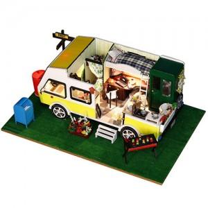 [adico] DIY 미니이처 하우스 - 모던 캠핑카