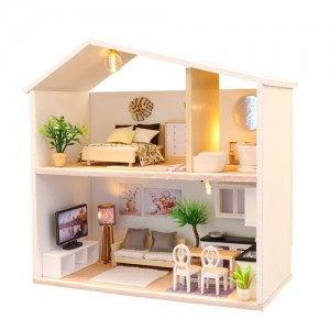 [adico] DIY 미니어처 하우스 - 라이트 타임