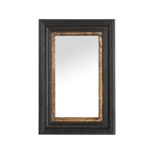 SG 러스틱 블랙앤골드 프레임 거울 20X30
