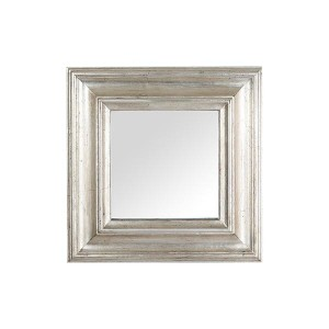 SG 실버프레임 사각거울 30X30