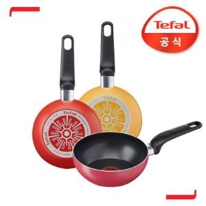 테팔 인조이 미니 볶음팬 16cm (레드,핑크,옐로우 택 1)
