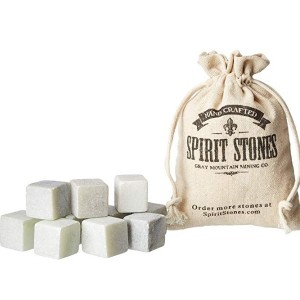 Whiskey Stones Pack of 10 Reusable Ice Cubes / 250g