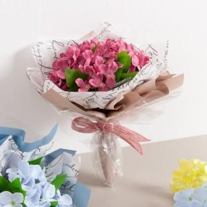 쁘띠비누수국 꽃다발 22cm_P3(조화)