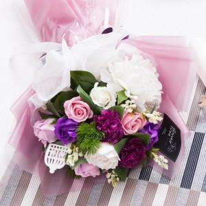 피오니비누 꽃다발 56cm(픽포함)