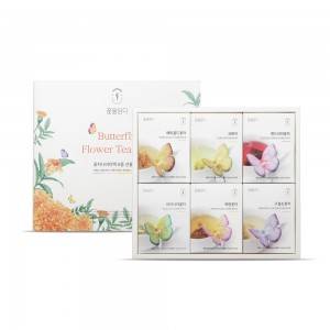 꽃차 나비티백(3개입) 6종세트