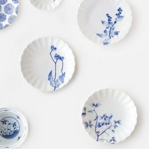 니코트 가든플라워 접시 gift 4P세트 JAPAN
