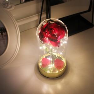 레드 골드 쁘띠 로즈 LED 무드등
