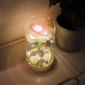 핑크 골드 쁘띠 로즈 LED 무드등