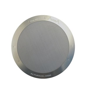 Altura The Mesh: Premium Filter For Aeropress Coffee Makers + Free Ebook With Recipes, Tips, And More, Stainless Steel / 25g