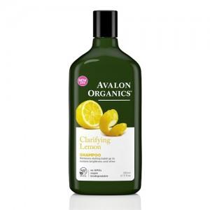 [Avalon Organics] 유기농 샴푸 - 레몬 (두피정화,윤기)