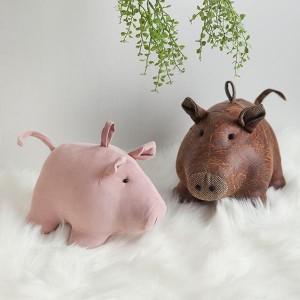 HY2 실크/레더터치 돼지인형 2종 시리즈