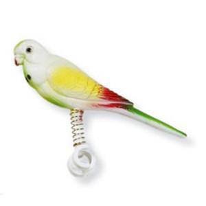 [하겐] 새 장난감 스프링 앵무새