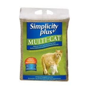[심플리시티] 멀티캣 포뮬라 고양이모래 15Kg