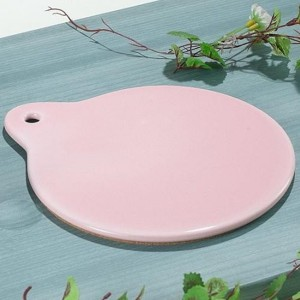 스카이 핑크 냄비받침