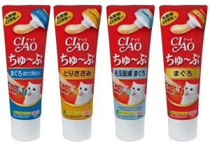 고양이 마약간식 이나바 챠오츄브 240g세트(택1)