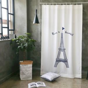 라임라잇 에펠탑-고급 소프트 반암막커튼