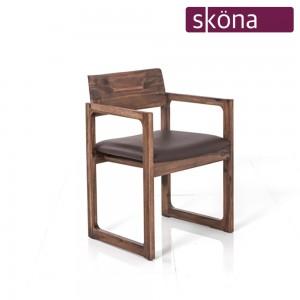 애쉬튼 원목 의자