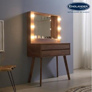 [잉글랜더]앤티카 800 LED 수납 화장대(거울포함)