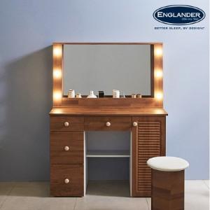 [잉글랜더]프리지아 갤러리 1000 LED 수납 화장대(거울포함)