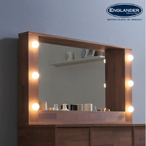 [잉글랜더]앤티카 스탠드형 LED 거울 1000