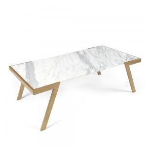 WMZV-1200 천연 대리석 거실 소파 테이블