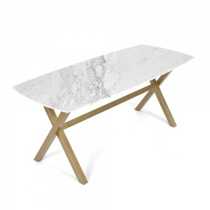 WMXD-1800  천연 대리석 테이블  6인 식탁